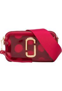Marc Jacobs Bolsa The Jelly Snapshot - Vermelho