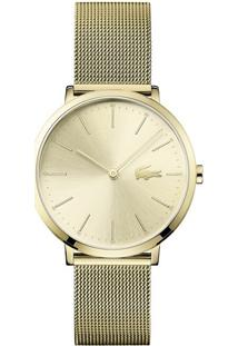 16146eb8f54 ... Relógio Lacoste Feminino Aço Dourado - 2001000