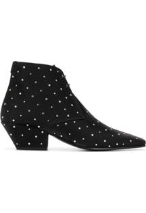 Saint Laurent Ankle Boot Belle - Preto