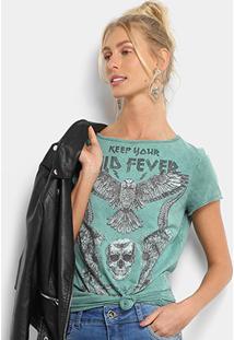 44d102102 ... Camiseta Colcci Manga Curta Silk Feminina - Feminino