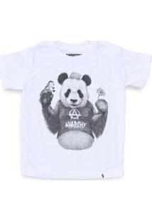Punk Panda - Camiseta Clássica Infantil