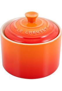 Açucareiro De Cerâmica Le Creuset Laranja 300Ml - 25028