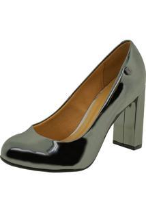 Sapato Feminino Salto Alto Vizzano - 1260100 Cinza