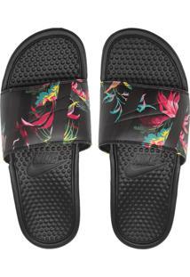 Chinelo Nike Sportswear Benassi Jdi Print Preto