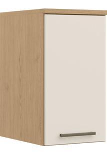 Módulo Aéreo Com 1 Porta Elegance 4243A-Móveis Castro - Angelin / Off White