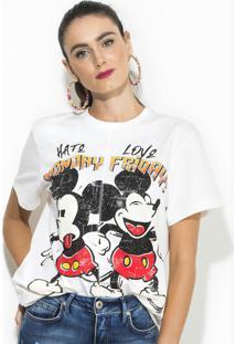 Camiseta Disney Branca