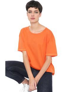 Camiseta Colcci Neon Laranja - Kanui