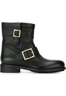 Jimmy Choo Bota Modelo 'Youth' - Preto