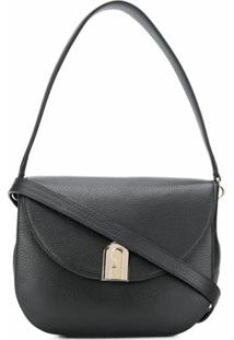 Furla Sleek Cross Body Bag - Preto