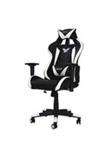 Cadeira Gamer Pro Eaglex Giratoria Reclinavel Ajuste De Altura - Branca
