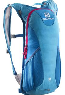 Mochila Esp Trail 10 Azul/Rosa - Salomon