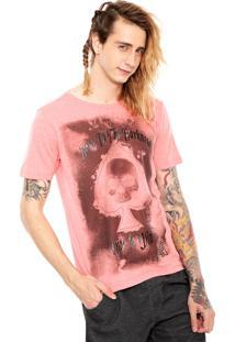 Camiseta Red Nose Darkness Coral