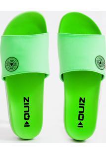 Chinelo Feminino Flatform Neon Quiz