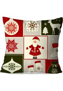 Capa De Almofada Love Decor Avulsa Decorativa Classic Natal