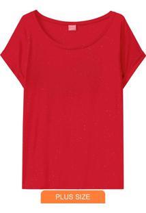 Blusa Vermelha Botonê