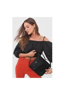 Bolsa Desigual Across Body Bag Minuet Preta