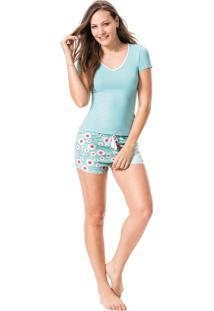 Pijama Estampado Malwee Liberta