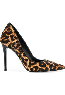 Michael Michael Kors Scarpin Animal Print - Marrom