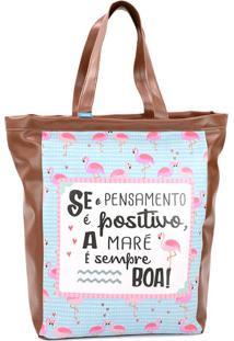 Bolsa Sacola - Coleção Flamingo - Mood
