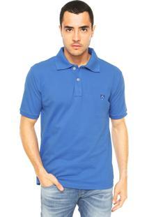 Camisa Polo Mr. Kitsch Vauvert Azul