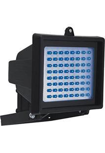 Refletor Holofote Com 60 Leds Azuis - Dni 6051