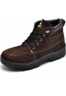 Bota Adventure Em Couro Sb Shoes Café