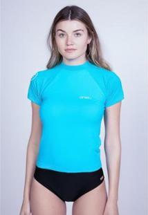 Camiseta O'Neill Lycra Manga Curta Feminino - Feminino