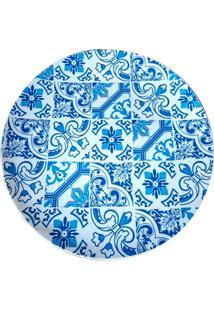 Sousplat De Plástico Indigo Portuguese Azul 33Cm - 21332