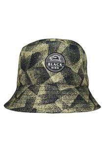 Chapéu Bucket Hats Black Bird Thb 43P