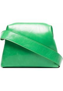 Osoi Bolsa Transversal Brot Mini De Couro - Verde