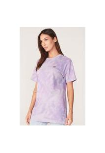 Camiseta Ecko Feminina Estampada Lilás