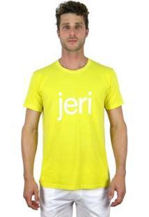Camiseta Bora Jeri - Masculino-Amarelo