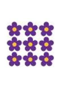 Adesivo De Parede - Flores - 002In-G