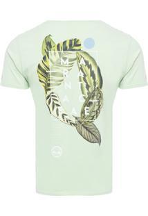 Camiseta Masculina Marantacae - Verde