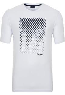 Camiseta Com Silk Branca Modem