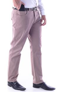 Calça 3025 Sarja Kaki Traymon Modelagem Regular