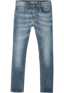 Calça John John Super Skinny Rosário Jeans Azul Masculina (Jeans Medio, 38)