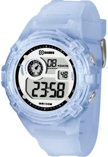 ef5162a4681 Relógio Digital Azul Grande feminino