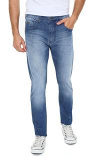 Calça Jeans Sommer Lavagem Azul