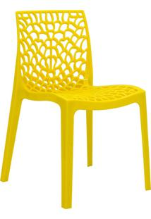 Cadeira Gruv -Rivatti - Amarelo