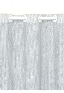 Cortina Santista 230X280Cm Istambul Fred Cinza - Cinza - Dafiti