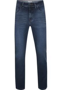 Calça Jeans Pierre Cardin Premium Denim Índigo