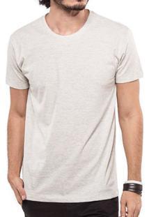 Camiseta Básica Mescla Claro 103280