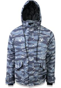 Jaqueta New Era Ski Style Nba Militar