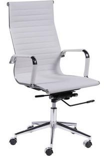 Cadeira Office Eames Esteirinha- Branca- 114X61X46,5Or Design