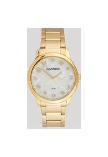 Relógio Analógico Mondaine Feminino - 53685Lpmkde1 Dourado