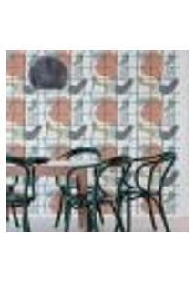 Papel De Parede Adesivo Abstrato Grade N05056 0,58X3,00M