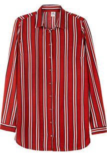 Camisa Feminina Manga Longa Estampada