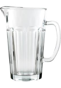 Jarra De Vidro Para Suco E Agua 1.200 Ml - Transparente