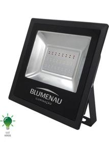 Refletor Led Slim 50W Bivolt Verde - 74505000 - Blumenau - Blumenau
